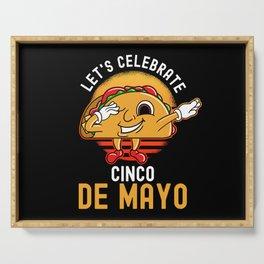 Cinco De Mayo Dancing Taco Serving Tray