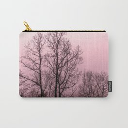 Naked trees silhouette Carry-All Pouch