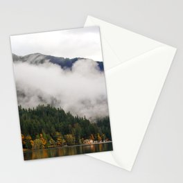 Fog in Olympic National Park Stationery Cards