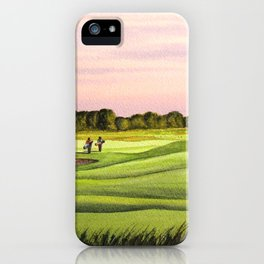 Royal Saint Georges Golf Course 9th Hole iPhone Case