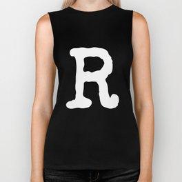 Letter R Biker Tank