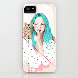Shhh... iPhone Case