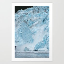 Icy Thunder Art Print