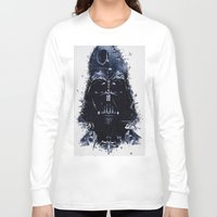 darth vader Long Sleeve T-shirts featuring Darth Vader by qualitypunk