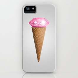 Diamonds are cool as fuck iPhone Case
