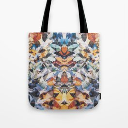 Rorschach Flowers 4 Tote Bag