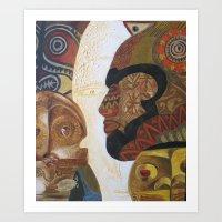 Dreams about Oceania Art Print