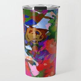 Wildflower Tapestry Travel Mug