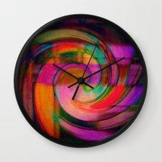 Psychedelic Swirl Wall Clock