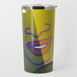 Shaman of the Healing Sounds Travel Mug