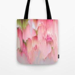 Artsy abstract blush pink watercolor brushstrokes Tote Bag