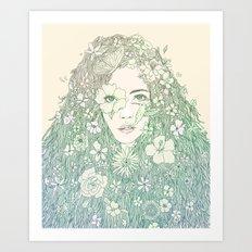 Life is Growing On Me Art Print