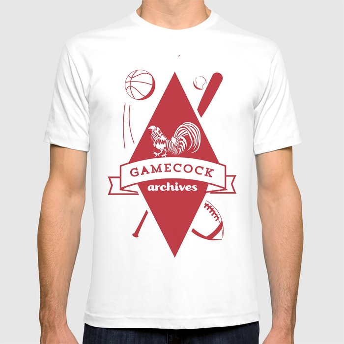 Gamecock Archives Primary Logo T-shirt