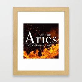 House of Aries Fire Framed Art Print