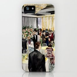Rocco Gann Live Painting iPhone Case