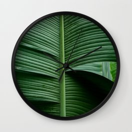 Leaves 15 Wall Clock
