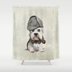 Sir Dandie Dinmont Terrier Shower Curtain