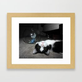 Upside-Down Framed Art Print