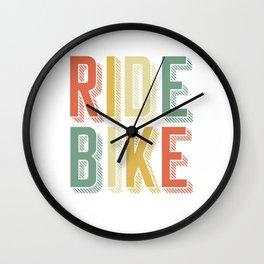 Motocross Dirt Riders Racers Motorcycle Biker Gift Ride Bike Wall Clock