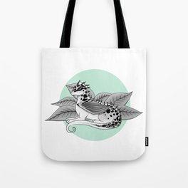 Poisonous Dragon-Teal Palette Tote Bag