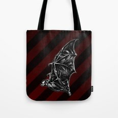 Leather Wings Tote Bag