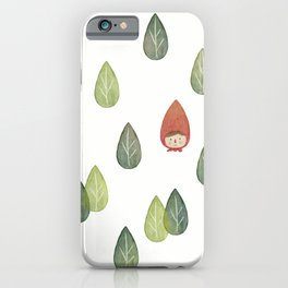 Little Red Riding Hood :) iPhone Case