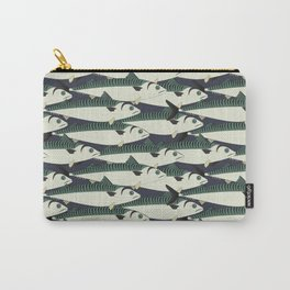 Mackerel fish close up Carry-All Pouch