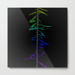 Witch Ladder Metal Print