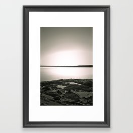 St-Lawrence III Framed Art Print