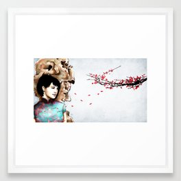 Chinese Garden Framed Art Print