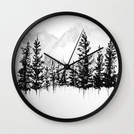 Old Pine III Wall Clock