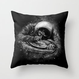 Space Junkie Throw Pillow