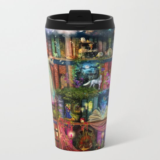 Whimsy Trove - Treasure Hunt Metal Travel Mug