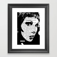 Are We Alone? Framed Art Print