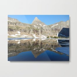 Hidden Lake, Glacier National Park, Montana Metal Print