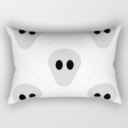 Aliens face Rectangular Pillow