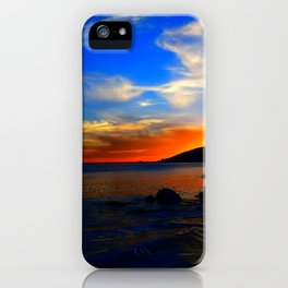 vibrant sky iPhone Case