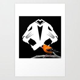 ANML lover Art Print