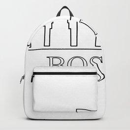 Boston skyline Backpack