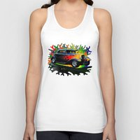 ford Tank Tops featuring 32 Ford by JT Digital Art