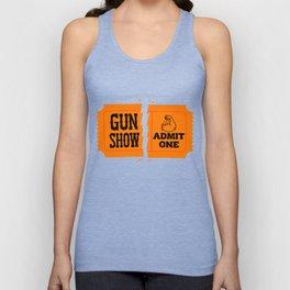 Ticket to the Gun Show Unisex Tank Top