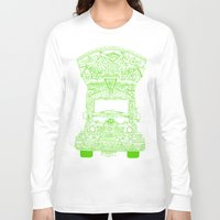 lime green Long Sleeve T-shirts featuring Pakistani Truck. (Lime Green) by ApaAli.