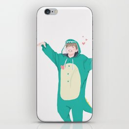 Jimin the Dinosaur iPhone Skin