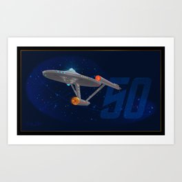 Trek 50 Art Print