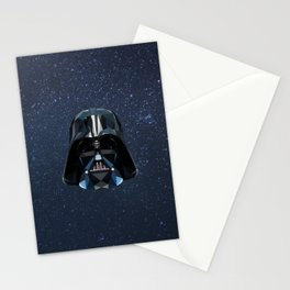 Low Poly Darth Vader Stationery Cards