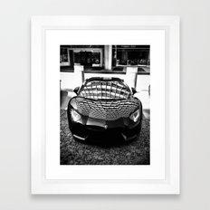 Baller Framed Art Print