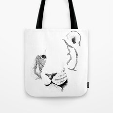 Amur Tiger - Can You See How Much Is Left? Tote Bag