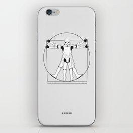 Vitruvian Stormtrooper iPhone Skin