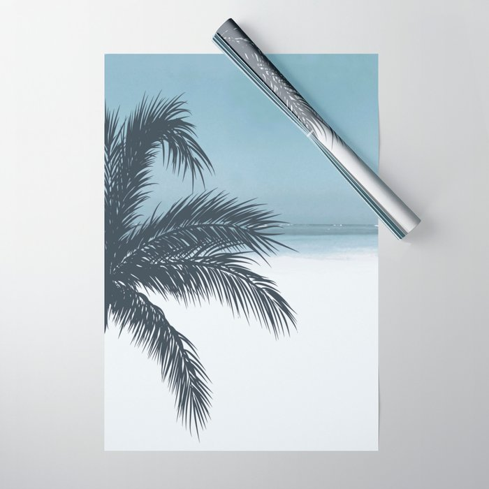 Palm and Ocean Wrapping Paper