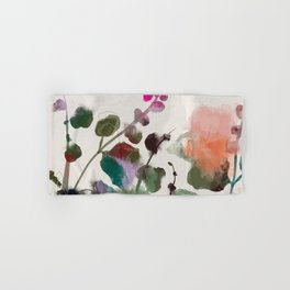 floral abstract summer autumn Hand & Bath Towel